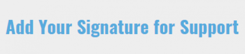 Signature for Support Button